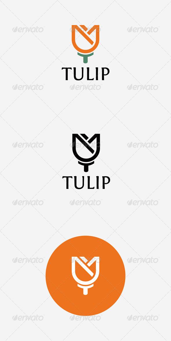 GraphicRiver Tulip Logo 7403561