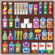 Set of Household Chemicals - GraphicRiver Item for Sale