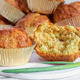 Muffins with cheese, bacon and herbs - PhotoDune Item for Sale