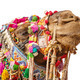 Decorated camel head isolated on white background - PhotoDune Item for Sale