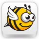 Wing Bee Sprite Sheet - GraphicRiver Item for Sale