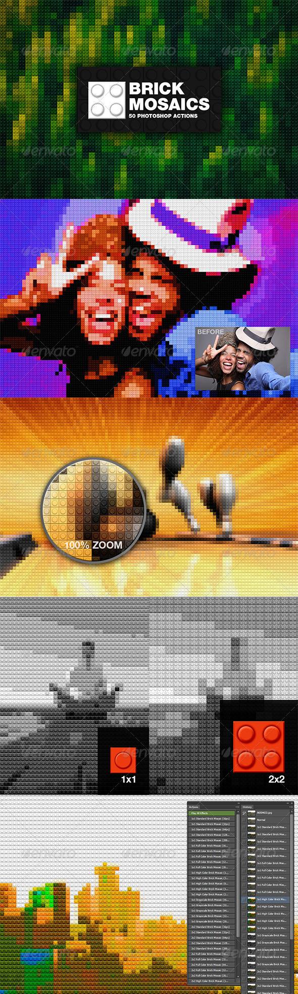 GraphicRiver Brick Mosaics 7404867
