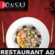 Japanese Restaurant Ad Flyer Template - GraphicRiver Item for Sale