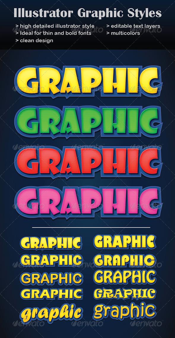 GraphicRiver Illustrator Graphic Styles 7119601