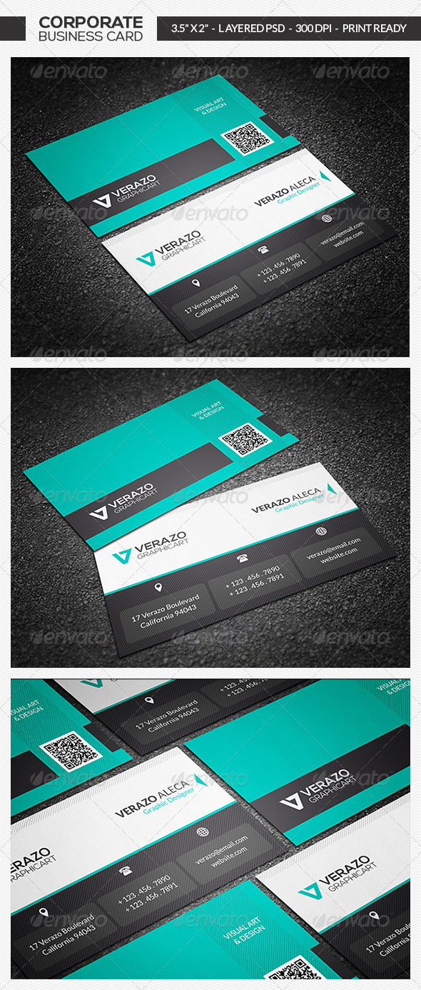 GraphicRiver Modern Creative Business Card 20 7405461
