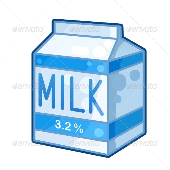 GraphicRiver Carton of Milk 7405605