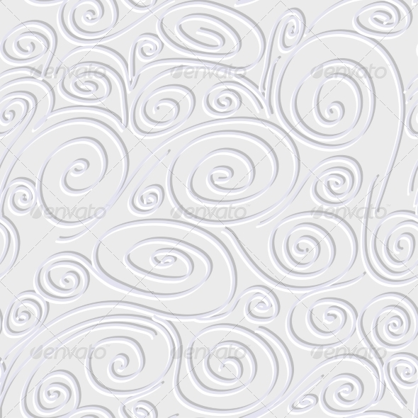 GraphicRiver Seamless Background with Spirals 7405714