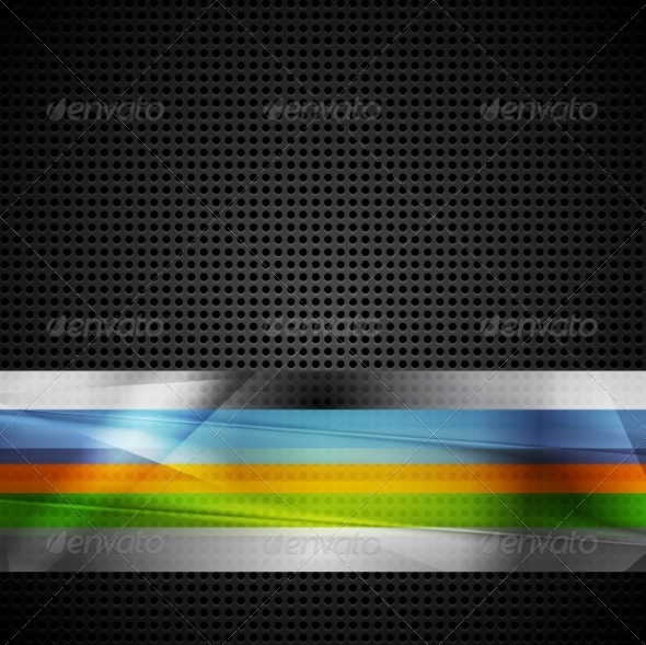 GraphicRiver Abstract Stripes Design 7405904