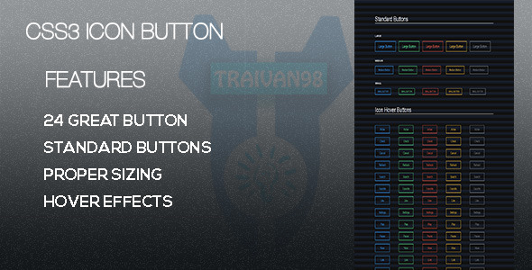 CodeCanyon CSS3 Icon Button 7359913