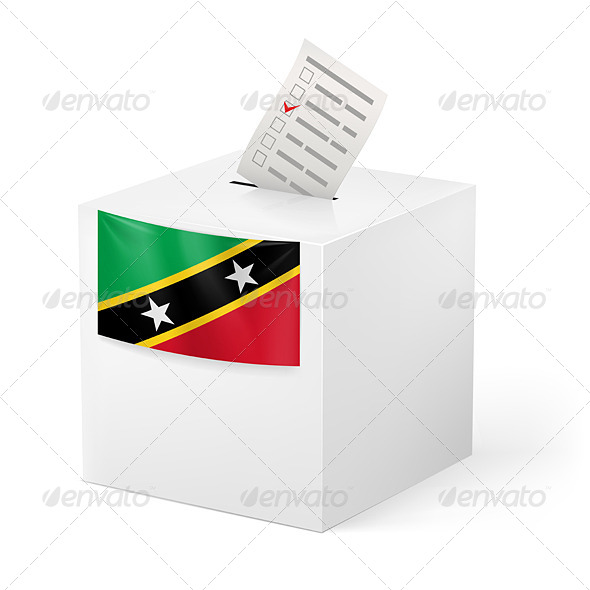 GraphicRiver Ballot Box with Voting Paper 7406015