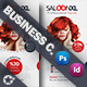 Saloon Business Card Template - GraphicRiver Item for Sale