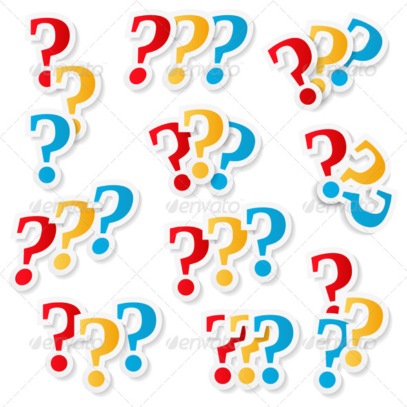 GraphicRiver Question Marks 7406122