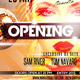Opening Party Flyer - GraphicRiver Item for Sale
