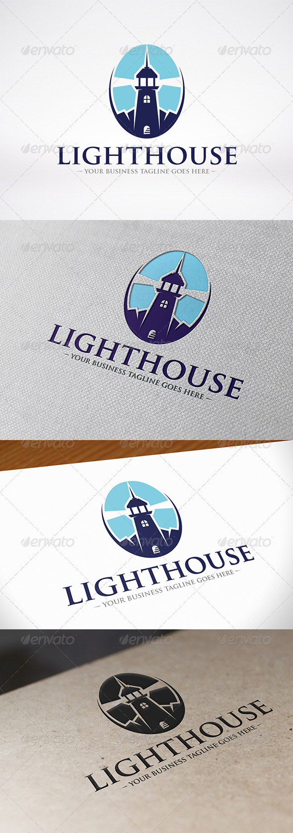 GraphicRiver Lighthouse Logo Template 7406631