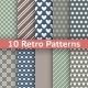 Retro Abstract Seamless Patterns - GraphicRiver Item for Sale