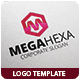 Mega Hexa Logo Template - GraphicRiver Item for Sale