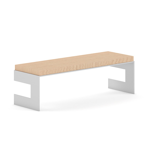 3DOcean Wooden Bench 10 7407826