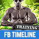 Gym and Workout 3 Timeline Cover - GraphicRiver Item for Sale