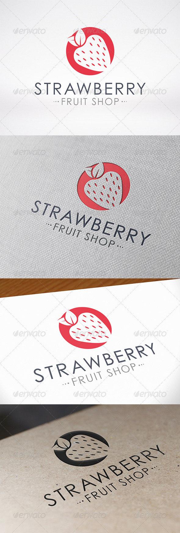 GraphicRiver Strawberry Logo 7408750