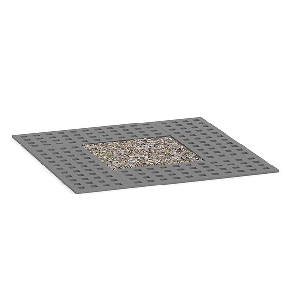 3DOcean Square Metal Street Tile 1 7409023