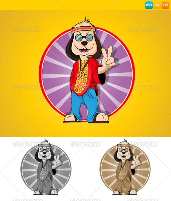 GraphicRiver Dog 7409029