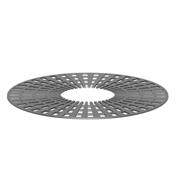 3DOcean Round Metal Street Tile 7409038