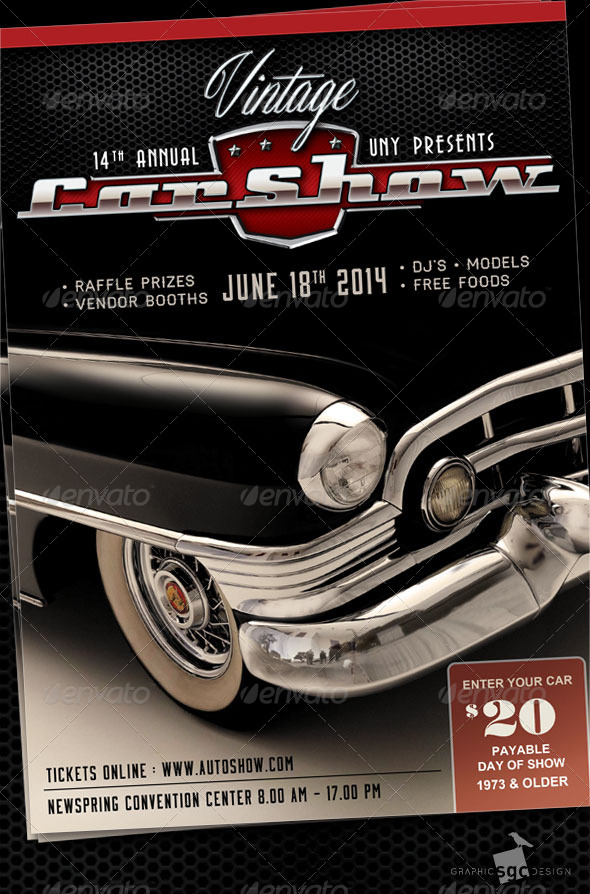 Car Show Flyer Template Goseqhtk - Car show flyer template