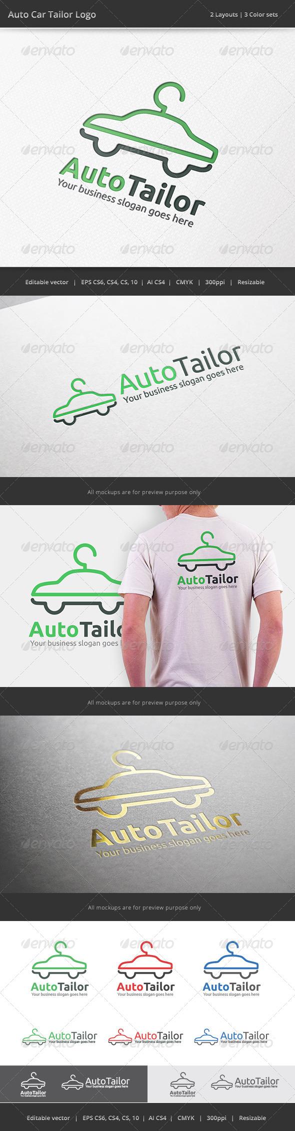 GraphicRiver Auto Car Tailor Logo 7410036