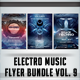 Electro Music Flyer Bundle Vol. 9 - GraphicRiver Item for Sale