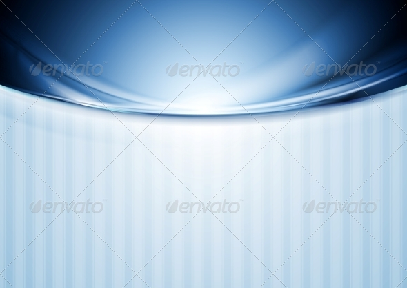 GraphicRiver Abstract Blurred Waves Design 7410155