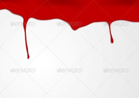 GraphicRiver Abstract Red Blood Design 7410164