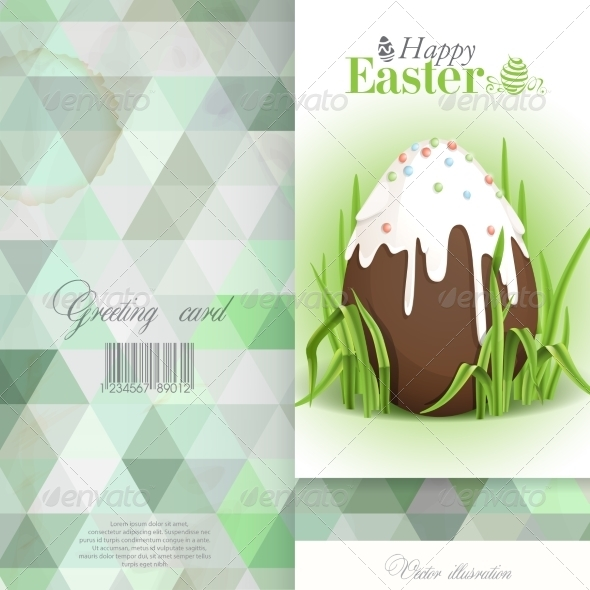 GraphicRiver Chocolate Easter Egg 7410344