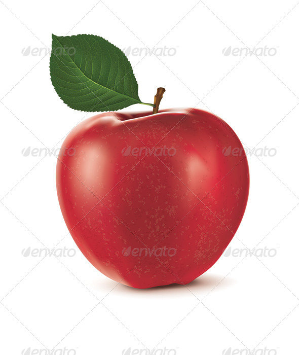 GraphicRiver Red Apple 7411989