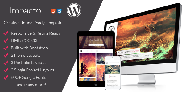 ThemeForest Impacto Flavorful and Minimalistic WP Theme 7254824