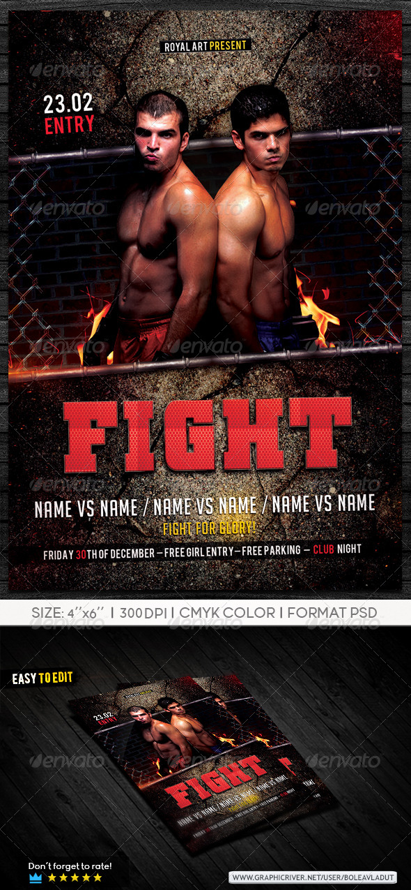 GraphicRiver Fight Night 7384352