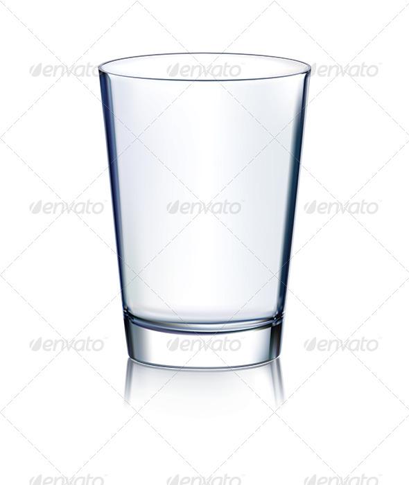 GraphicRiver Empty Glass Non Transparent 7412192