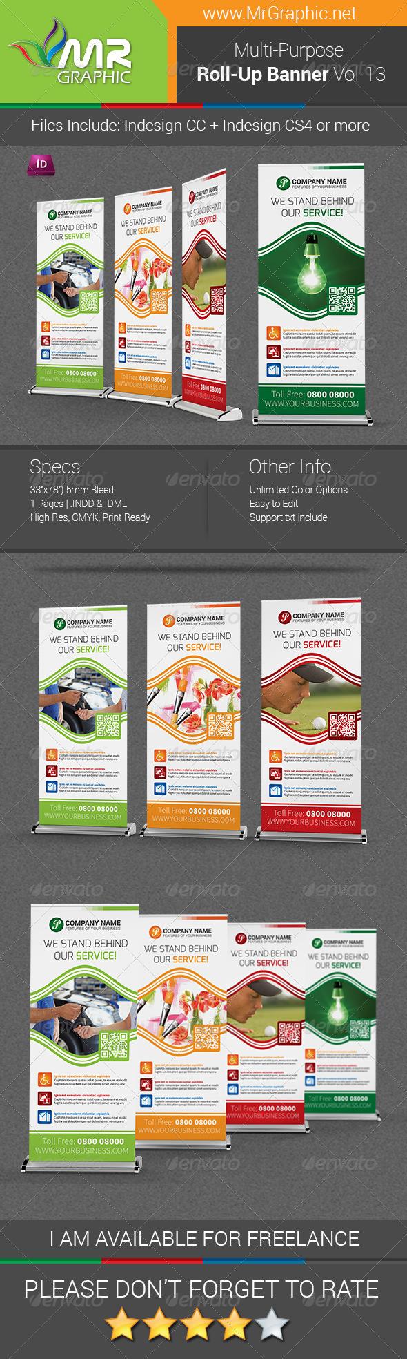 GraphicRiver Multi-Purpose Business Roll-Up Banner Vol-13 7412203