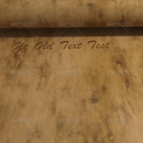 3DOcean Parchment Scroll Texture 7412207
