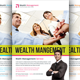 Investment & Wealth Management Flyer - GraphicRiver Item for Sale