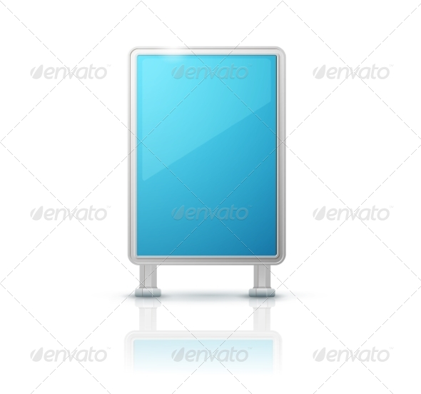 GraphicRiver Blank Billboard Panel 7413239