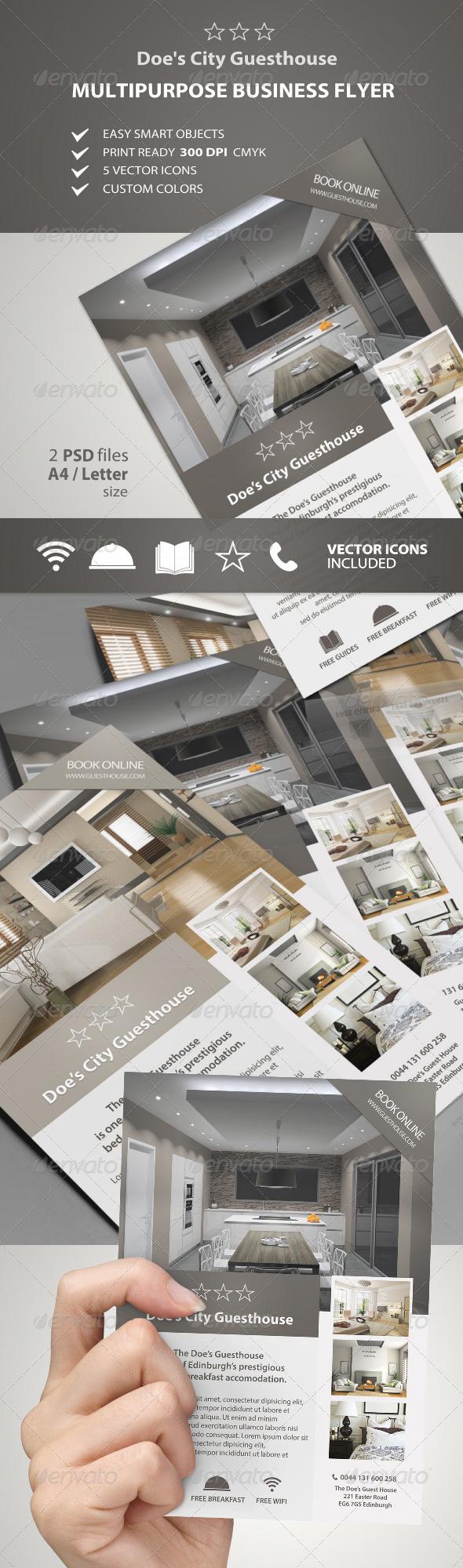 GraphicRiver Multipurpose Business Flyer vol.1 7413426