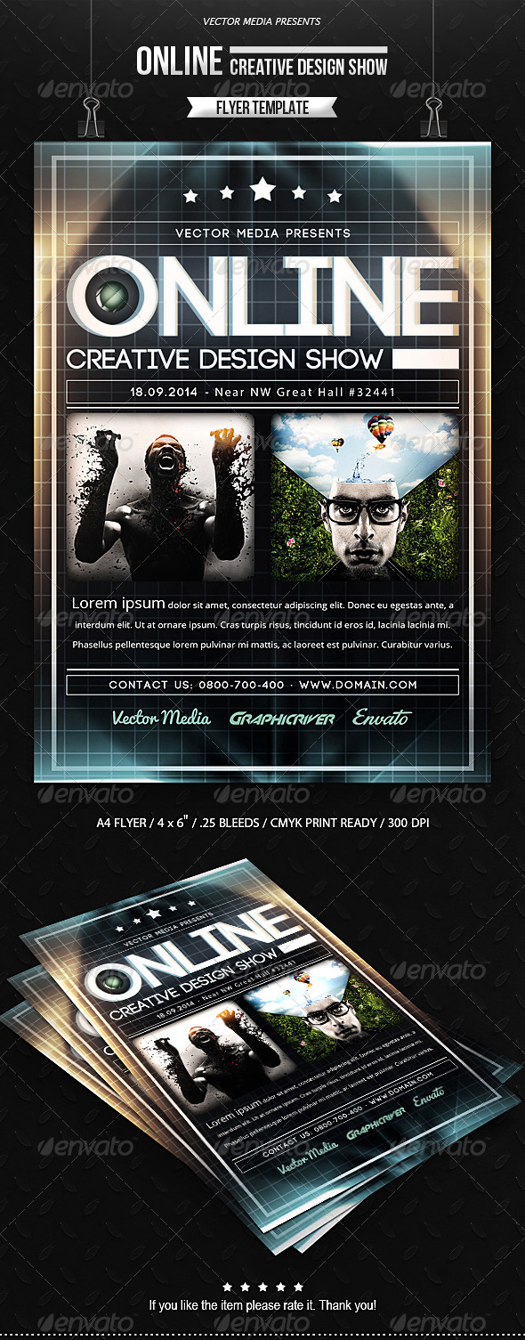 GraphicRiver Online Flyer 7413727