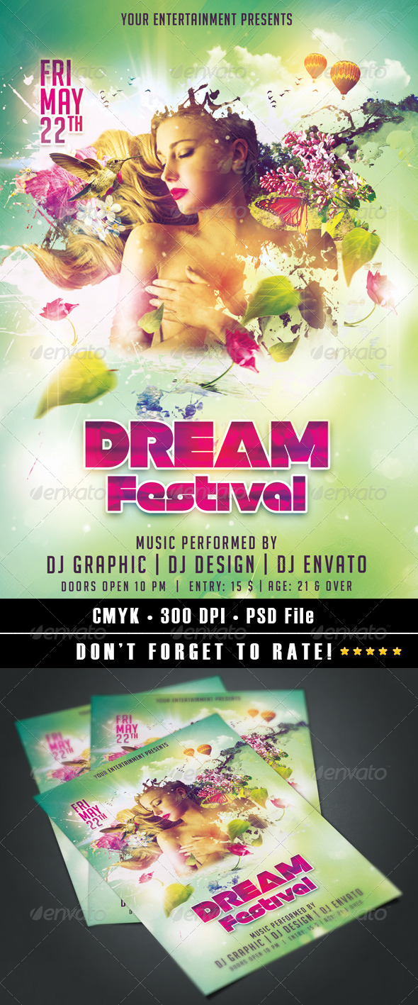 GraphicRiver Dream Festival 7413901