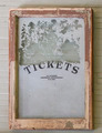 Antique Ticket Window sign from train depot. - PhotoDune Item for Sale
