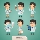 Doctors Cartoon Characters Set1.1 - GraphicRiver Item for Sale