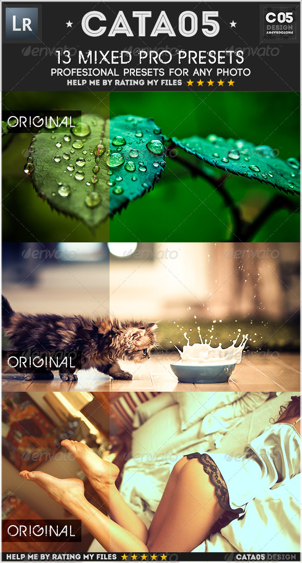 GraphicRiver 13 Mixed Pro Presets 7414691