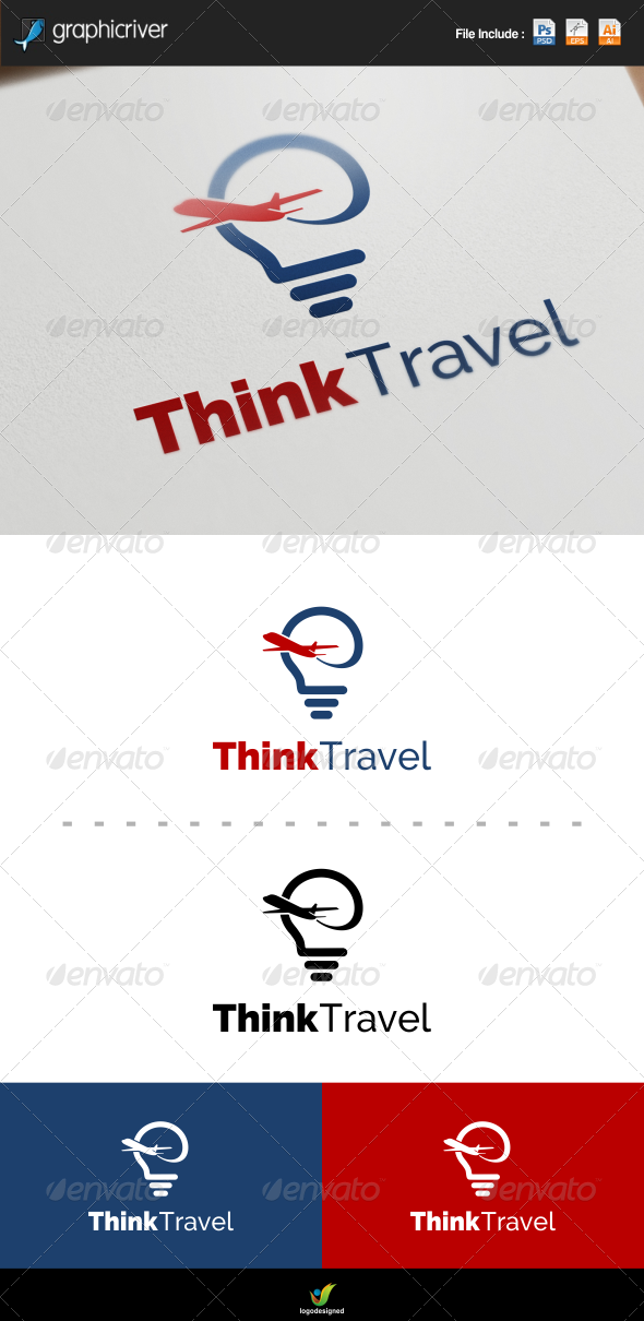 GraphicRiver Travel Logo 7415780