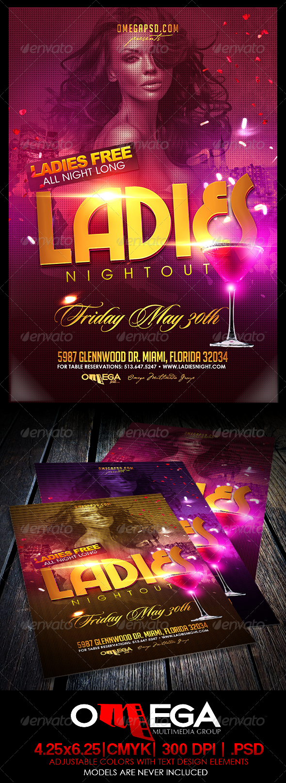 GraphicRiver Ladies Nightout 7415889