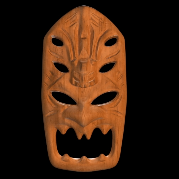 3DOcean African Mask 7415948