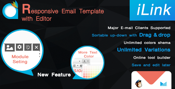 ThemeForest iLink-Responsive Email Template with Editor 7365716